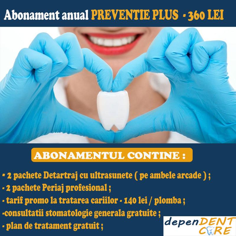abonament anual stomatologie